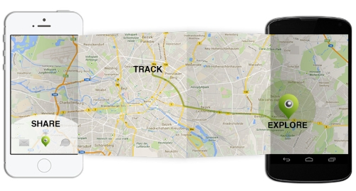 track an iphone with android