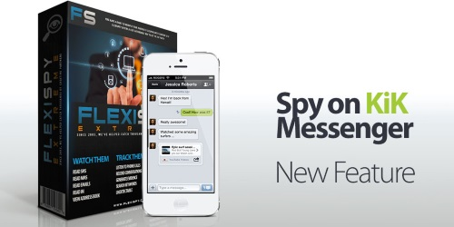 spy on kik messenger
