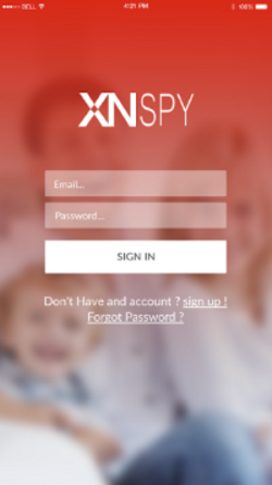 xnspy android dashboard